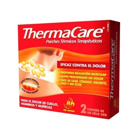 Thermacare cuello/ hombro 2 parches termicos