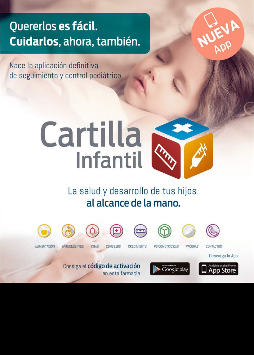¿Conoces la APP Cartilla Infantil?