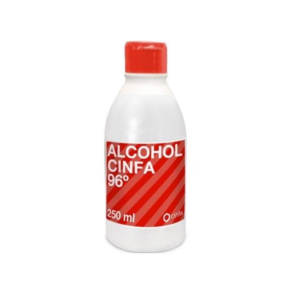 Alcohol cinfa 96º 250ml