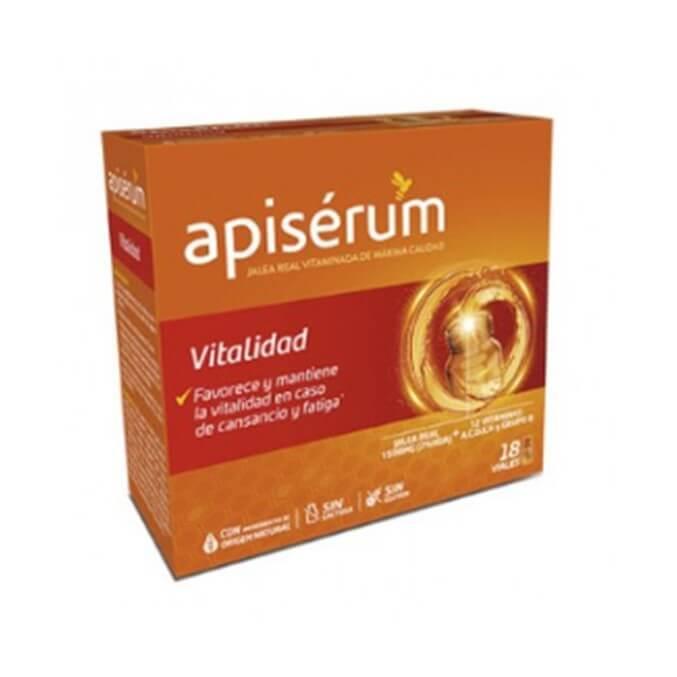 Apiserum Vitalidad Jalea Real 18 Viales