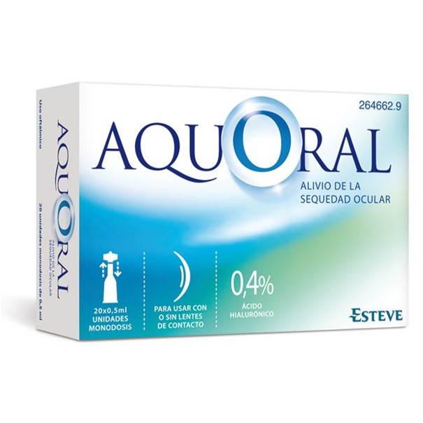 Aquoral 20 monodosis