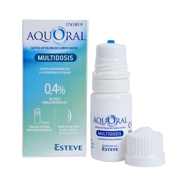 Aquoral multidosis 10 ml