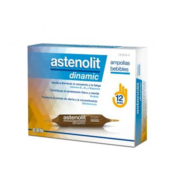 Astenolit Dinamic 12 Ampollas Bebibles 10ml
