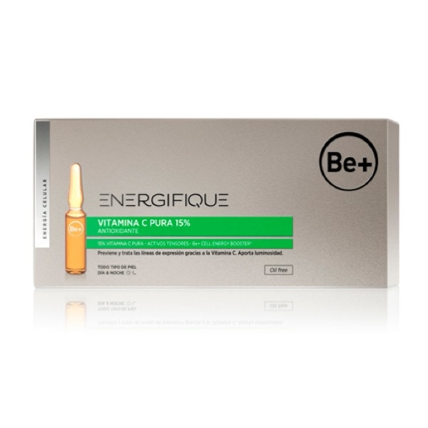 Be+ energifique 10 ampollas vitamina c pura