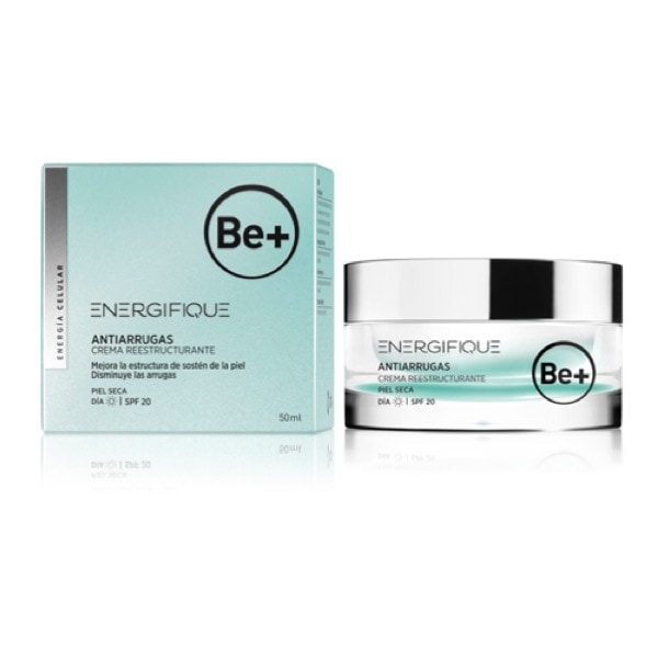 Be+ energifique crema piel seca 50 ml spf20
