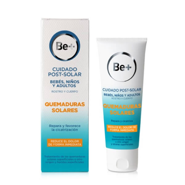 Be+ quemaduras solares post solar 100 ml