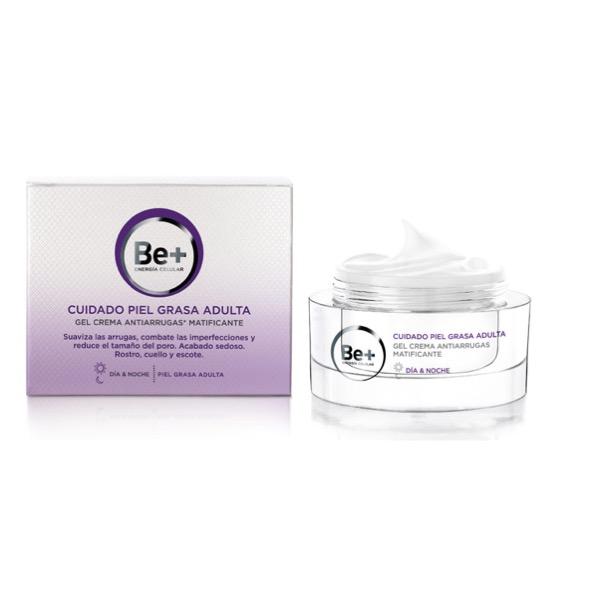 Be+ gel crema antiarrugas matificante