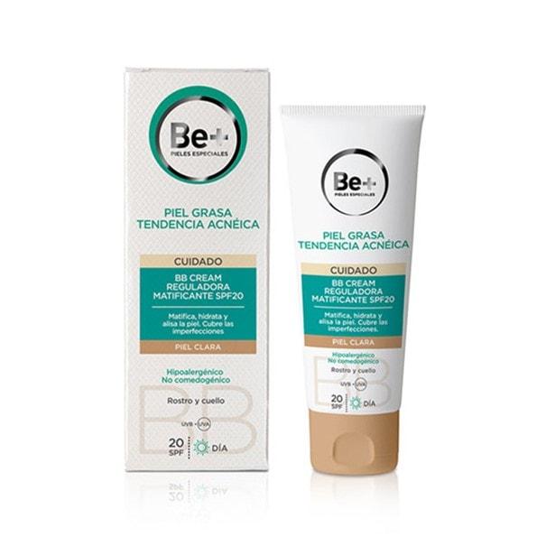 Be+ bb cream reguladora matificante piel clara spf20