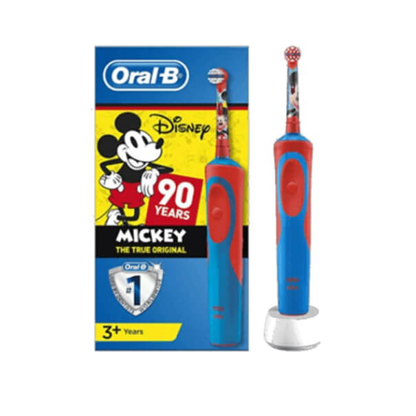 cepillo electrico oral-b kids mickey 90 años