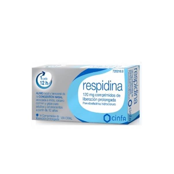 Respidina 14 comprimidos