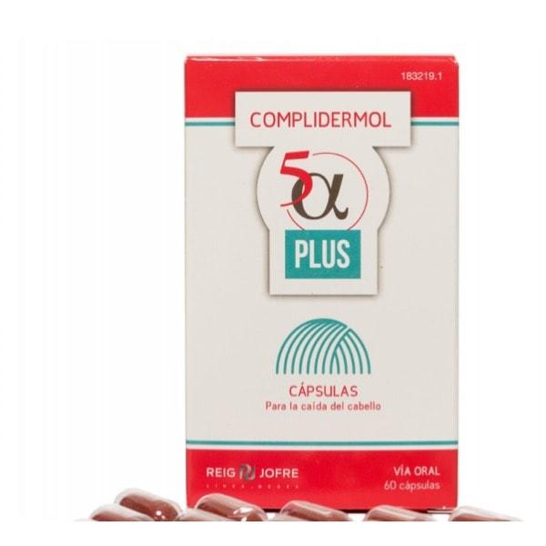 Complidermol plus 5 alfa 60 cp