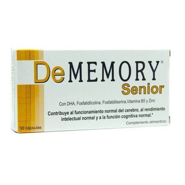 De memory senior 30 cápsulas