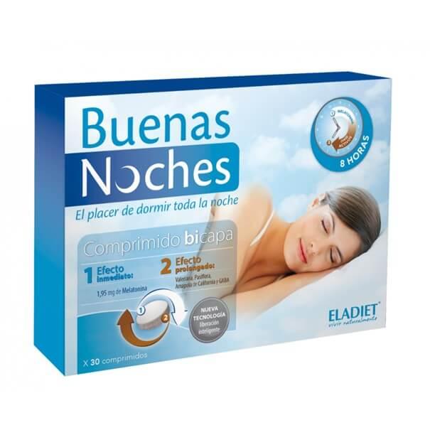 Eladiet buenas noches 30 comprimidos bicapa