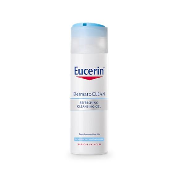 Eucerin dermatoclean gel limpiador refrescante 200ml