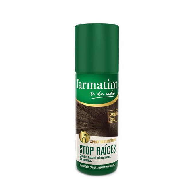 Farmatint Spray Stop Raices Castaño Claro 75 ml