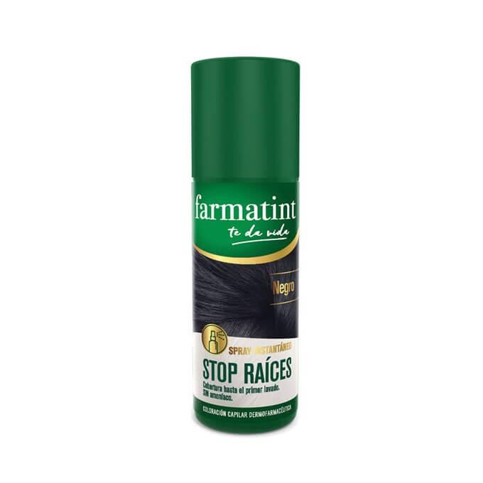 Farmatint Spray Stop Raices Negro 75 ml