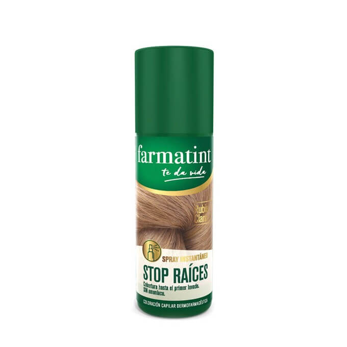 Farmatint Spray Stop Raices Rubio Claro 75 ml