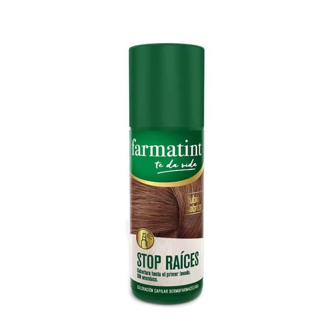 Farmatint Spray Stop Raices Rubio Cobrizo 75 ml