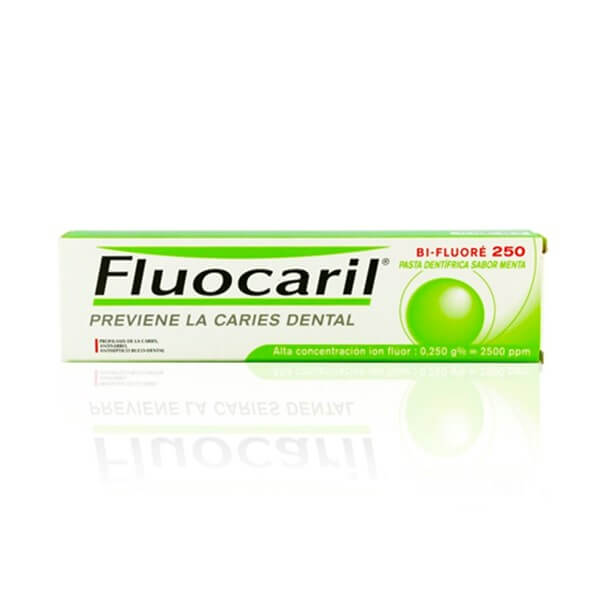 Fluocaril bi-fluore 250 mg menta 125 ml