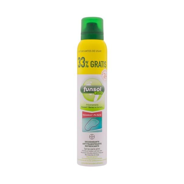 Funsol desodorante pies spray 150ml + 33%gratis
