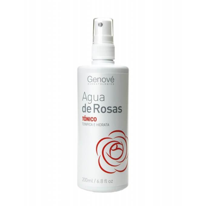 Genove Agua de Rosas Tonico Hidratante Spray 200 ml
