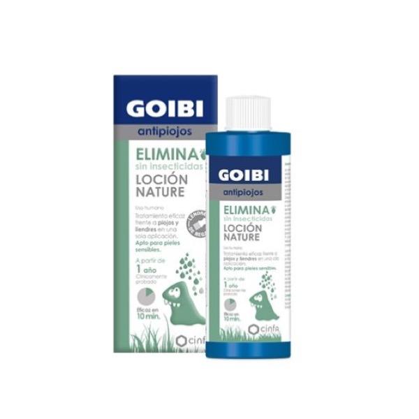 Goibi antipiojos elimina locion nature 200ml
