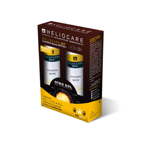 Heliocare 360 spray invisible pack duplo 200+200 ml