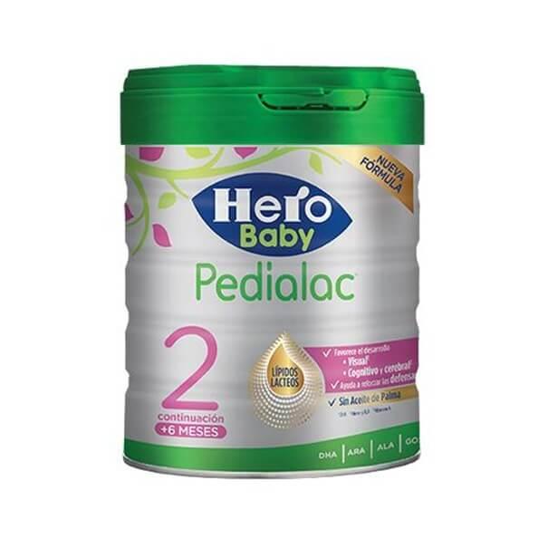 Hero baby pedialac 2 800 g sin aceite de palma
