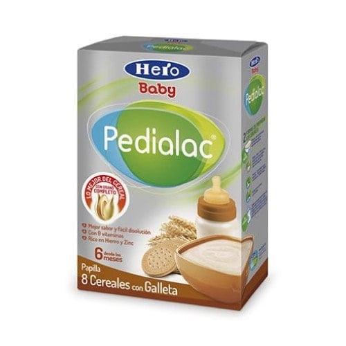 Hero baby pedialac 8 cereales/galleta 500 g