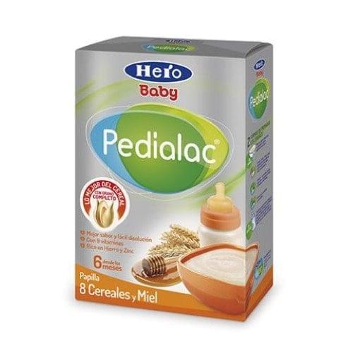 Hero baby pedialac 8 cereales/miel 500 g