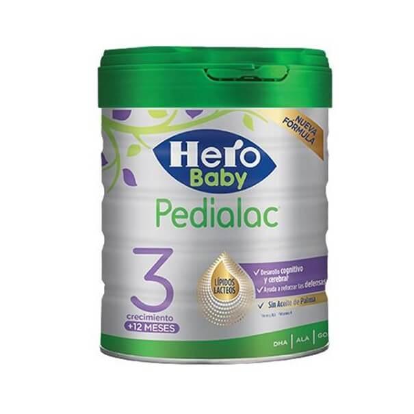 Hero baby pedialac 3 800 g sin aceite de palma