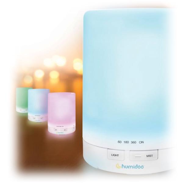 Humidificador aire por ultrasonidos luz nocturna