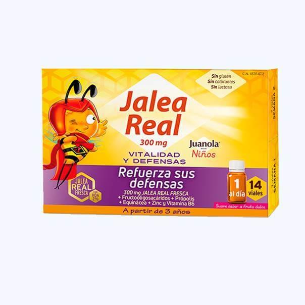 Juanola jalea real vitalidad y defensas niños 14 viales