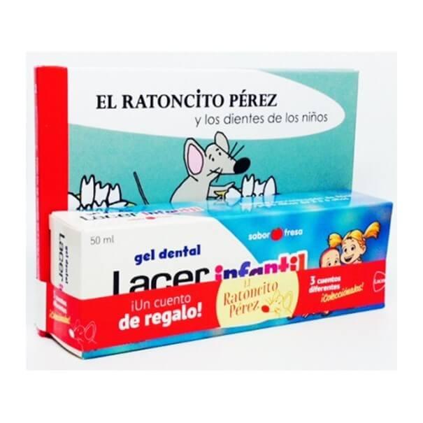 Lacer infantil gel dental 75ml + cuento regalo