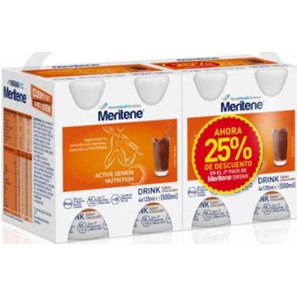 Meritene drink pack duplo chocolate