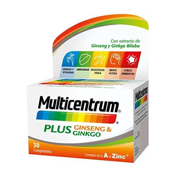 Multicentrum Plus Ginseng & ginkgo 30 cmp