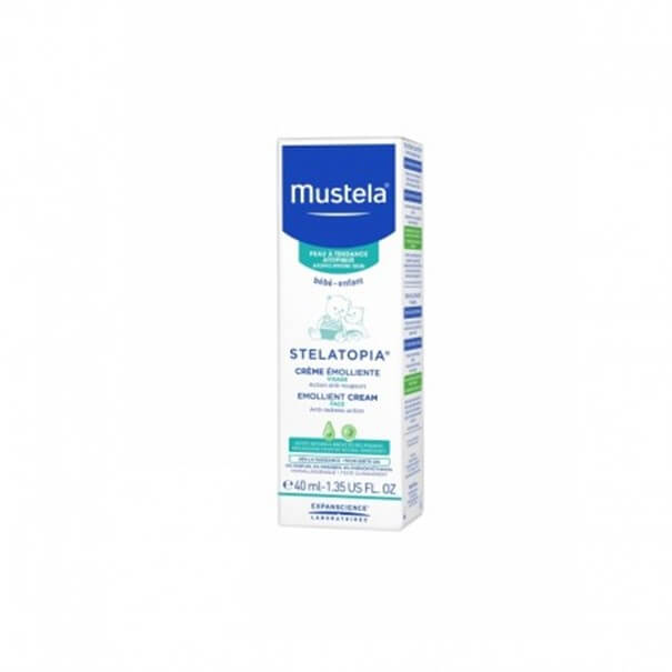 Mustela stelatopia crema facial 40 ml