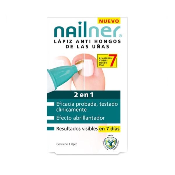 Nailner lapiz hongos uñas 2 en 1