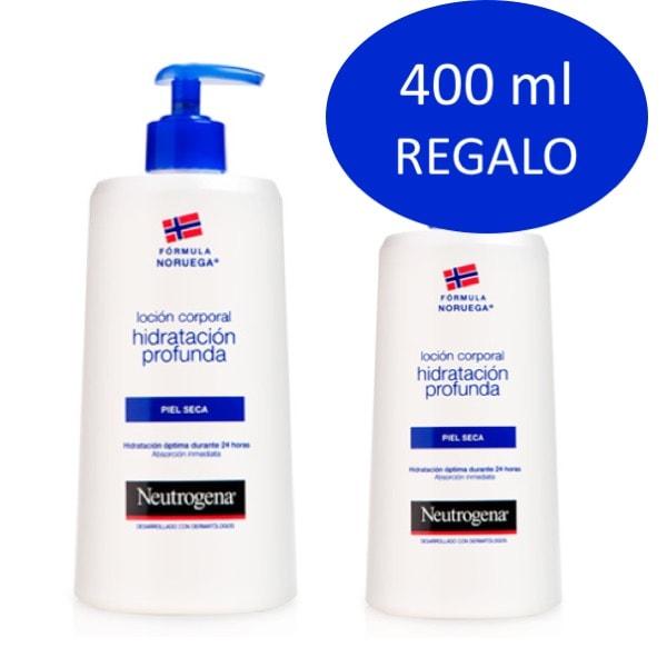 Neutrogena locion hidratacion profunda 750ml + 400ml regalo