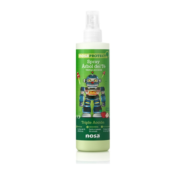 Spray arbol del te nosa  triple accion manzana 250 ml