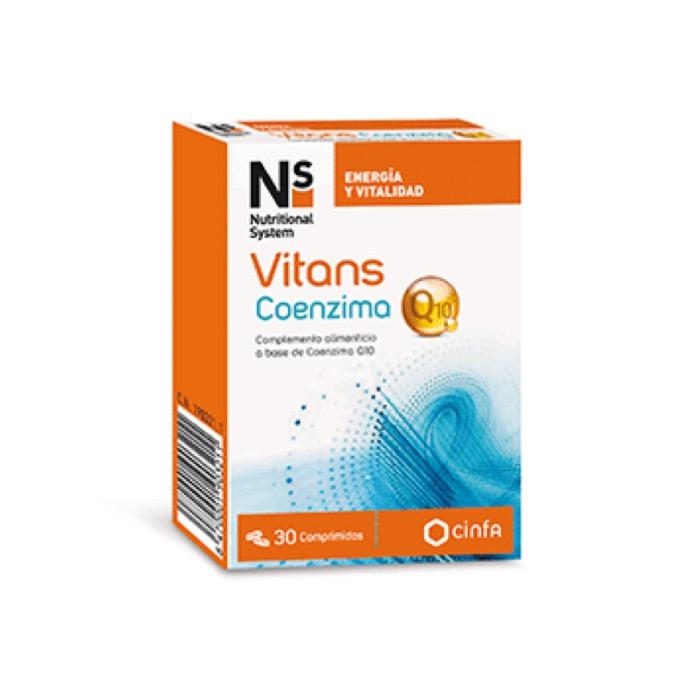 N+S Vitans Coenzima Q10 30 comprimidos