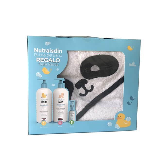 Nutraisdin Pack Rutina de Baño + Toalla Panda