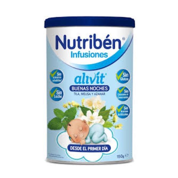 Nutriben alivit infusion buenas noches 150 g