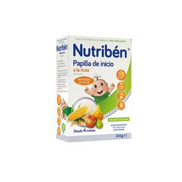 Nutriben papilla de inicio a la fruta 300 g