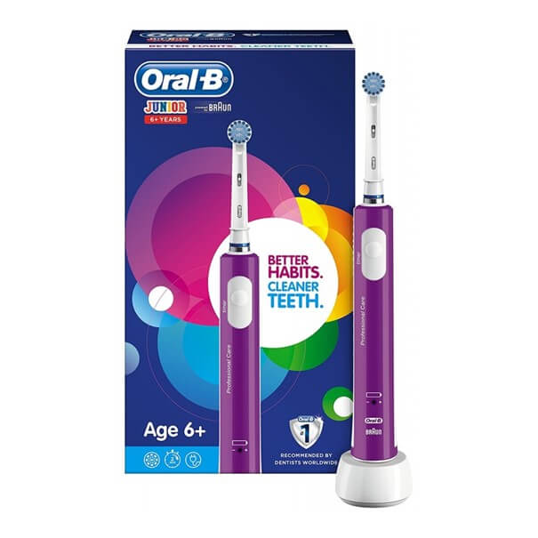 Cepillo electrico oral-b junior morado