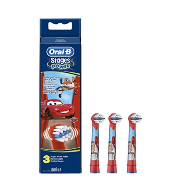 Oral-b recambios infantiles stages power 3 uds