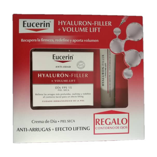 Pack h filler + volume lift piel seca regalo contorno ojos