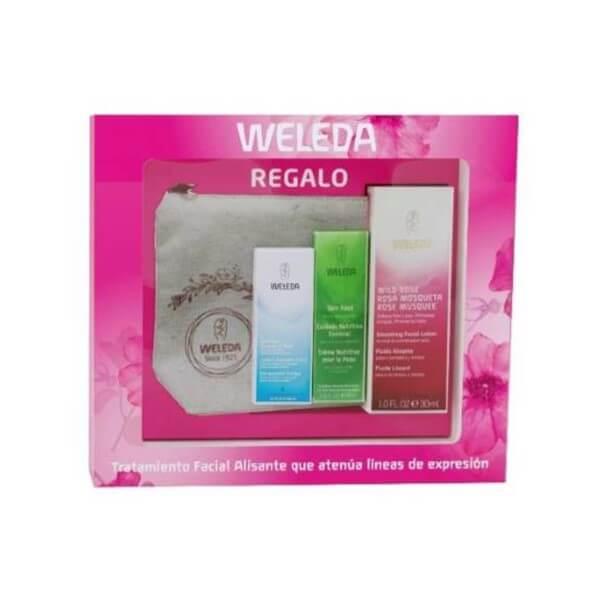 Fluido alisante rosa mosqueta 30 ml + neceser y 2 minitallas