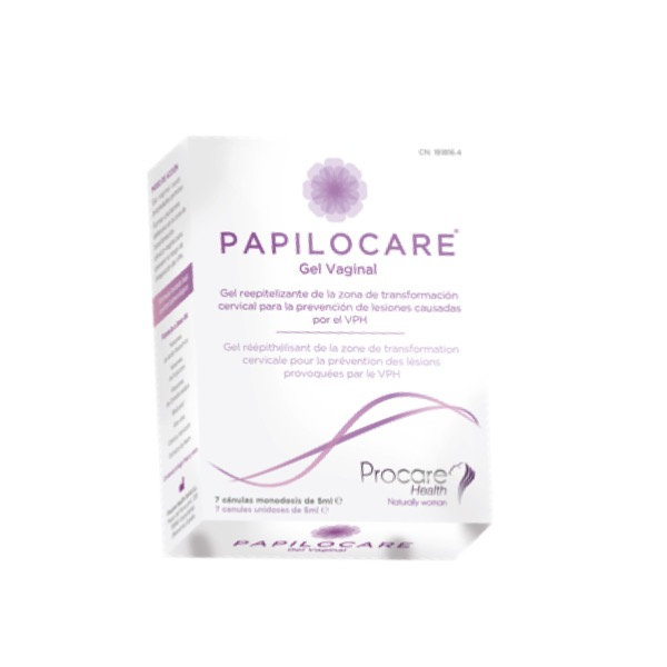 Papilocare gel vaginal 7uds x 5ml