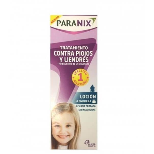 Paranix locion contra piojos y liendres 100ml + lendrera